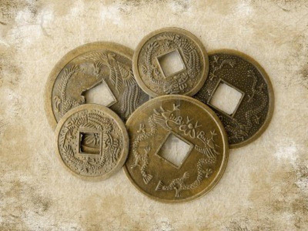 Монетки Фен Шуй для привлечения денег